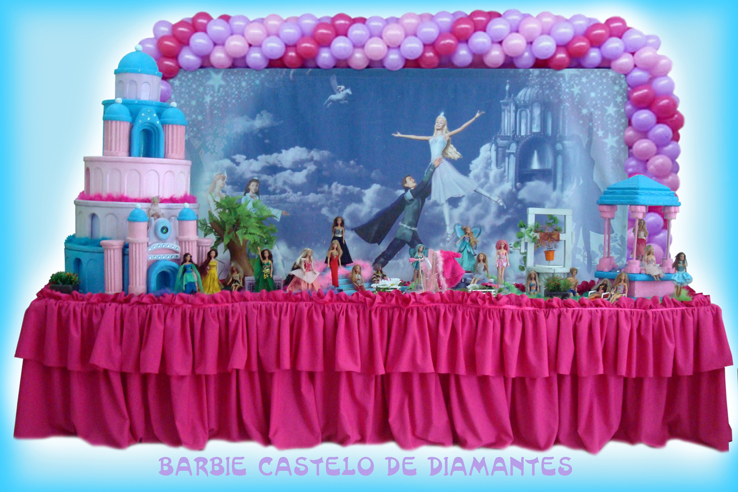 BARBIE CASTELO DIAMANTES